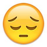 Thoughtful emoji