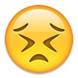 Struggling to hold it together emoji