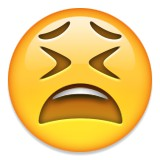 Fed up emoji