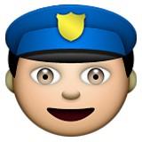 Policeman emoji