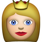 Pricess or Queen emoji
