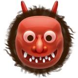 Japanese ogre emoji