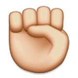 Closed hand emoji