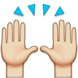 Praising hands emoji