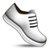 White sneakers emoji