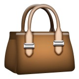 Brown bag emoji