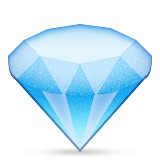 Diamond emoji