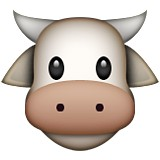 Cow with horns emoji