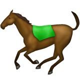 Horse running emoji