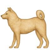 Dog with full body emoji