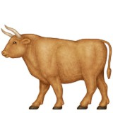 Brown ox emoji