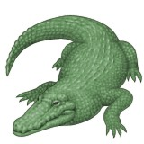 Alligator emoji