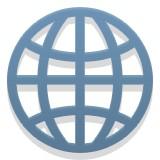 Globe with latitude and longitude emoji