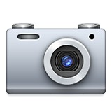Digital camera emoji