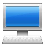 Desktop computer emoji