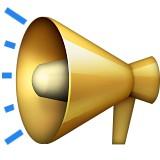 Loudspeaker emoji
