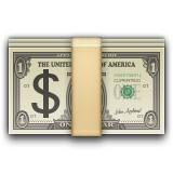 Money with Dollar emoji