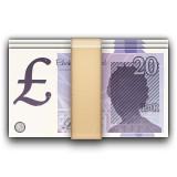 Money with Pound emoji