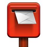Post office box emoji