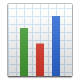 Bar graph emoji