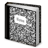Composition notebook emoji