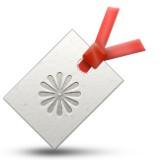Bookmark tag emoji