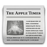 Newspaper emoji
