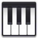 Piano keys emoji