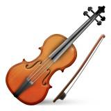 Violin emoji