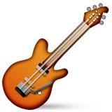 Electric guitar emoji