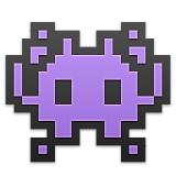 Purple monster emoji