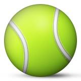 Tennis ball emoji