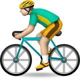 Road bicyclist emoji
