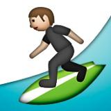 Surfer emoji