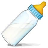Baby bottle emoji