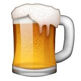 Beer mug emoji