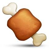 Meat on a bone emoji