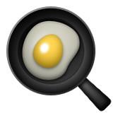 Fried egg in pan emoji