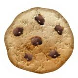 Chocolate chip cookie emoji