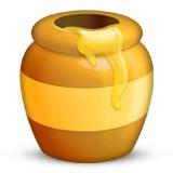 Honey jar emoji