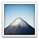 Mt. Fuji emoji