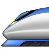 High speed train emoji