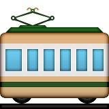 Railway car emoji