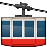 Mountain tram emoji