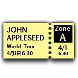 Ticket emoji