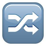 Shuffle emoji