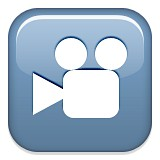 Film camera emoji