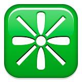 Crosshairs emoji