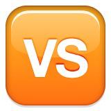 VS or versus emoji
