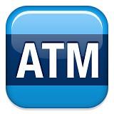 ATM Automatic teller machine emoji